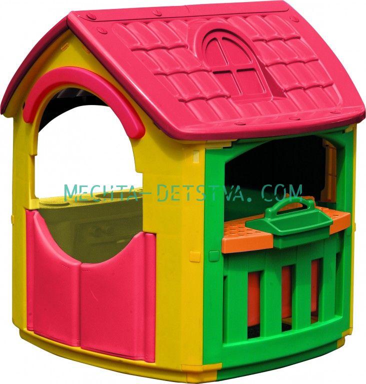 Детский игровой домик Кухня-Мастерская 665