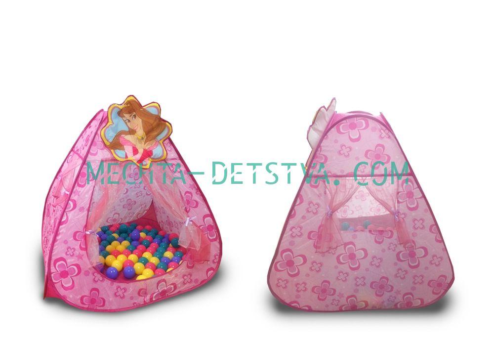 """CBH-13 Игровой домик """"Принцесса"""" + 100 шариков"""