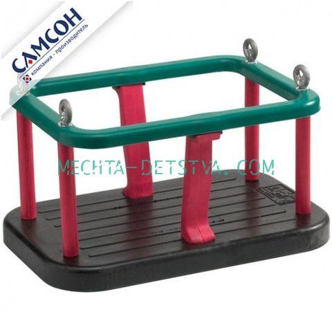Качели-кресло на цепях обрезиненные металлические